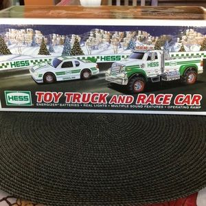 Other - Hess Toy Truck and Race Car